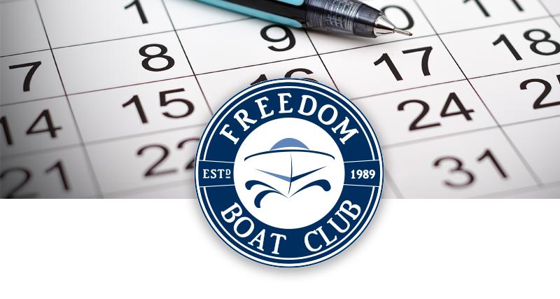 Freedom Boat Club January 15, 2018